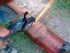 Инструменты для мангала из баллона
