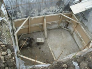 Строим погреб на даче