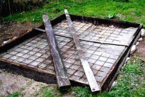 Фундамент столбчатой конструкции под небольшой курятник