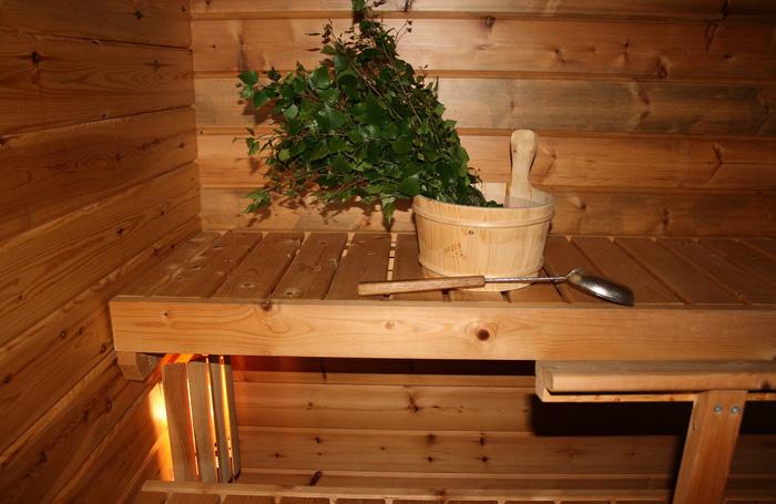 Расстояние между досками полога в бане