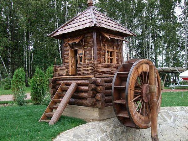 Как работает водяная мельница