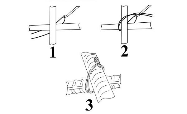 Схемы вязки арматуры для