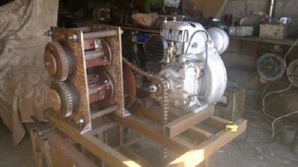 Большой двигатель стирлинга своими руками