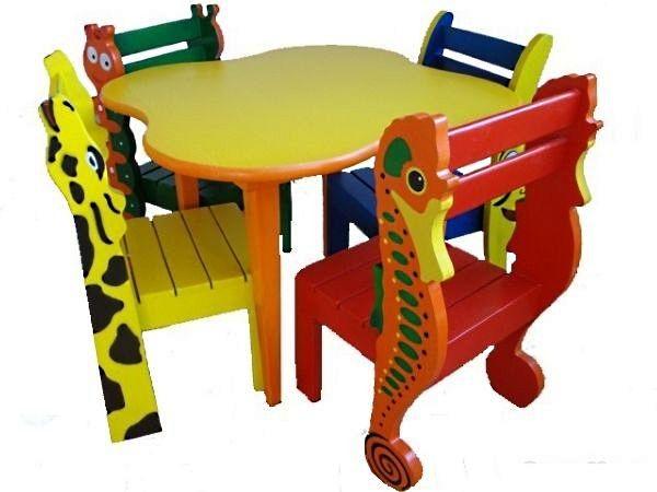 стулья-зверушки