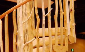 Изготовление перил из дерева