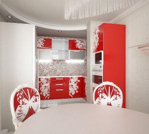 Красно-белая_кухня_2