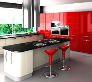 Красно-черная_кухня