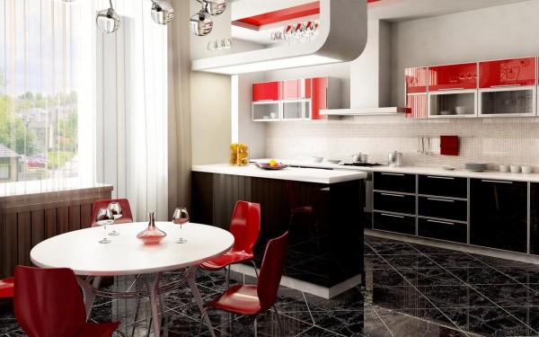 Красно-черная_кухня_5