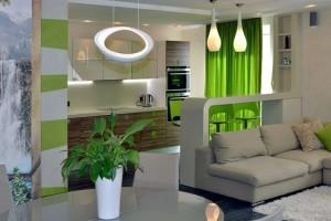 Дизайн кухни-гостиной 30 кв м