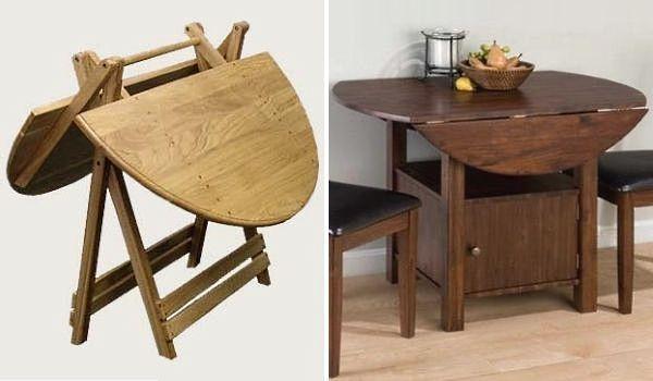 Круглый раскладной стол, стол-книжка.