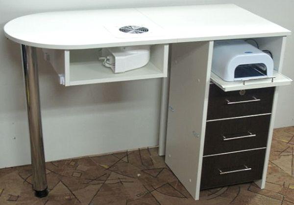 Маникюрный стол с вытяжкой.