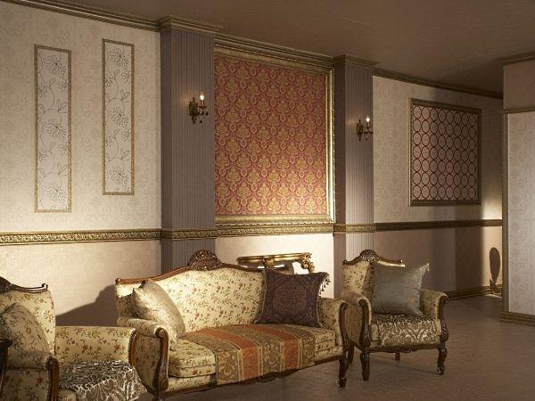 Декоративные молдинги для стен