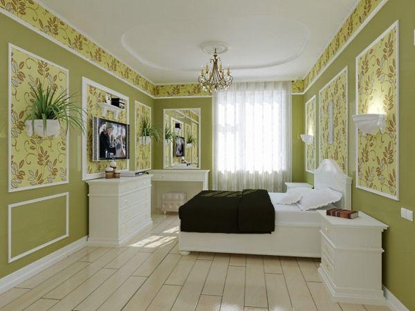 Декоративные молдинги для стен в интерьере