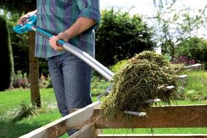 Перемешивание компоста