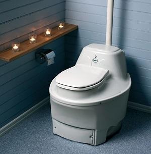 Компостный туалет на ведре