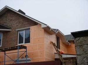 Утепление частного дома пеноплексом