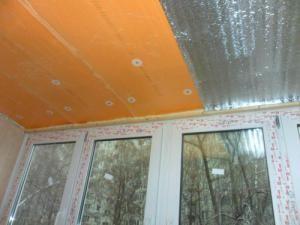 Утепление пеноплексом и пароизоляция потолка