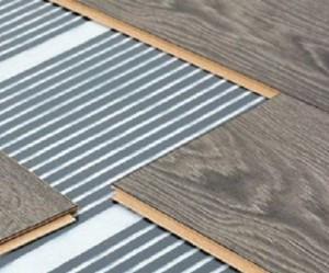 Пленочный теплый пол также хорош для установки в отдельных помещениях, к тому же он очень прост в монтаже