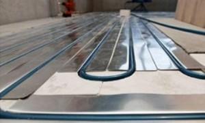 Полистирольная система не требует применения бетонных стяжек, что значительно облегчает вес конструкции