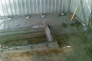 Уголки для обрамления ямы