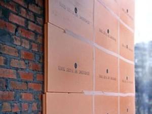 пеноплекс на стене