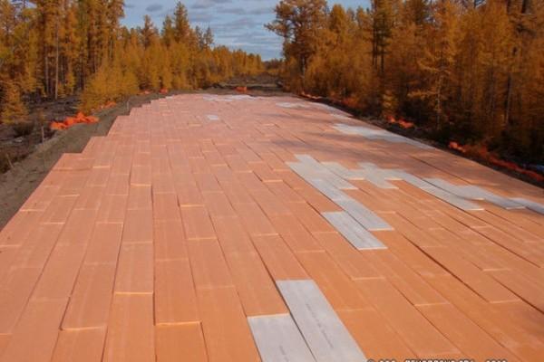 Утеплитель пеноплекс применяется при строительстве дорог