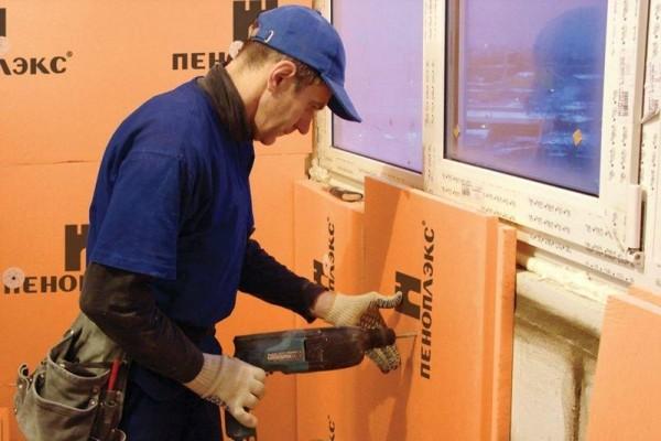 Для работы внутри помещения следует использовать наиболее тонкие плиты, уровень тепла повысится, а работать будет гораздо проще