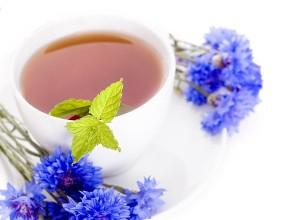 Чай из васильков - сильнодействующее мочегонное средство
