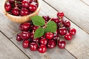 Плоды черешни сорта Красавица