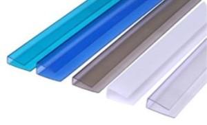 Накладки герметично закрывают внутренние каналы поликарбоната, что препятствует возникновению конденсата