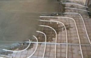 Внешний слой бетонной стяжки является основой для чистового пола