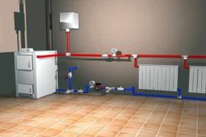 Система отопления без циркуляционного насоса