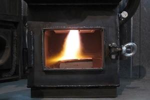 Печка пиролизного типа