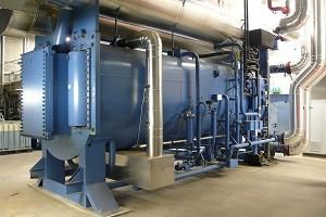 Тепловой насос промышленного типа