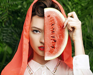 Gil & watermelon