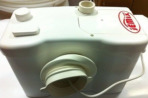 Насос туалетный, фекальный с измельчителем JEMIX STP-100 LUX