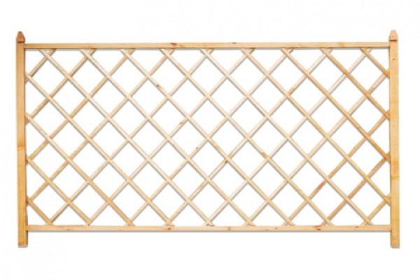 Декоративная конструкция из деревянных планок