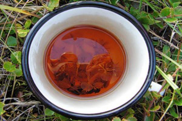 Чай активнее насыщает кожу полезными веществами, если употреблять его регулярно перед сном