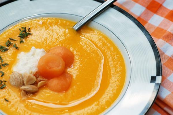 Вкусный и питательный суп из дыни
