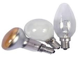 Примеры образцов ламп разных форм и размеров
