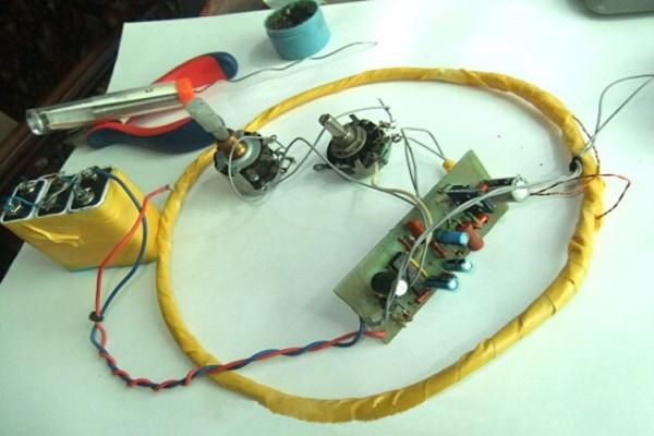Настройка прибора с помощью потенциометров разной мощности