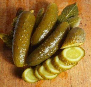 Соленые огурцы рецепт на зиму холодным способом
