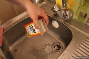 Народные средства для очистки канализации