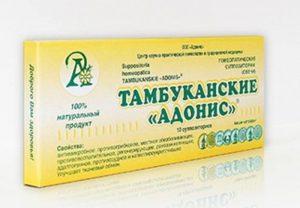Адонис народная медицина