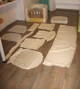 Чем обшить диван самостоятельно