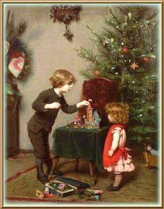 История новогондей елки