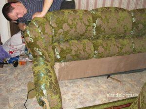 Обивка дивана самостоятельно