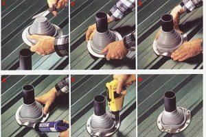 Мастер-флеш для дымохода принципы выбора и технологические правила установки