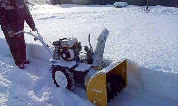 пошаговая инструкция как сделать снегоуборщик