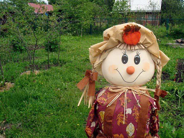 Пугало-девочка